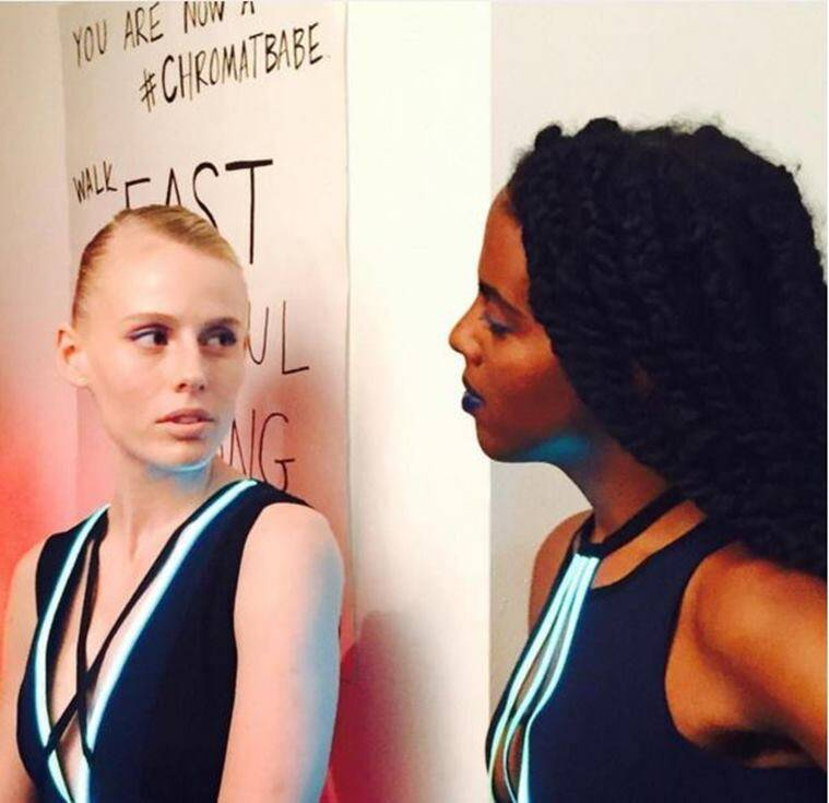 New York Fashion Week, NYFW, Kotex, toxic shock syndrome, Lauren Wasser, amputee, Jennifer Rovero, recovery, model, fashion model, inspiring, good news,