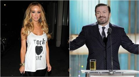 lauren pope, Ricky Gervais, lauren pope news, Ricky Gervais news, lauren pope movies, Ricky Gervais movies, entertainment news