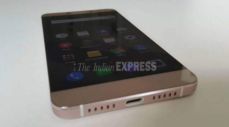 Le 1s features metal unibody design which is uncommon in the budget smartphone segment