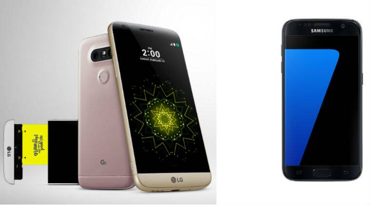 Samsung Galaxy S7, LG G5, Samsung Galaxy S7 vs LG G5, Samsung, LG, G5 launch, G5 price, Galaxy S7 series, Galaxy S7 edge, MWC, MWC 2016, technology, technology news