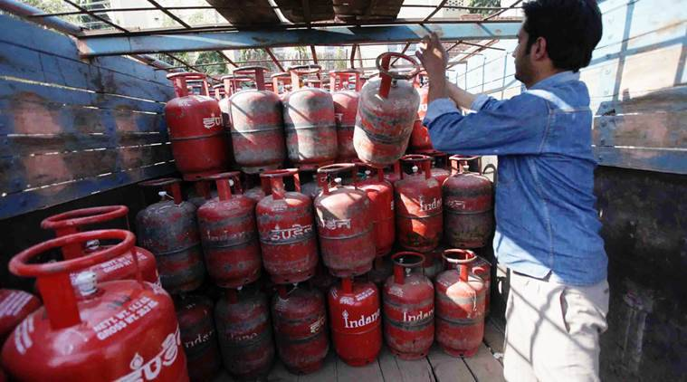 lpg price hike, vat lpg hike protest, Sarbananda Sonowal, Sarbananda Sonowal government, vat, lpg, vat hike, lpg price rise, bjp, assam, indian express news, india news
