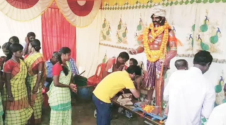 Mahishasur event, jharkhand Mahishasur festival, jharkhand tribals Mahishasur, smriti irani Mahishasur, smriti irani speech, smriti irani jnu, india news