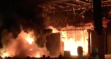 Video of the Fire at Girguam Chowpatty at Make In India event