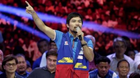 Former world champion Manny Pacquiao stirs controversy after calling gay couples 'worse than animals'