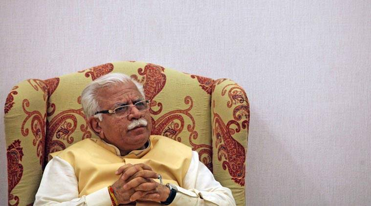 haryana, cm, cases, chief minister, manohar lal khattar, haryana government, haryana cm's flying squad, flying squad, indian express news