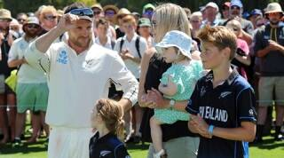 Brendon McCullum's Test journey in pictures