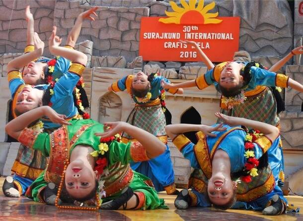 A riot of colours: Photos from the Surajkund International Crafts Mela