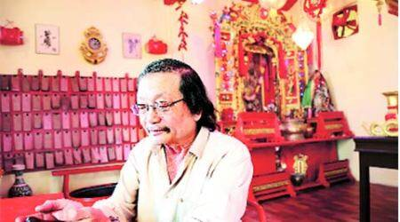 Melting  pot: Mumbai's Chinese temple glows red for year of the monkey