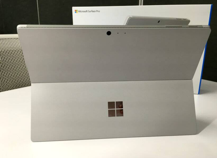 Microsoft Surface Pro 4's kickstand is a really practical addition to the machine