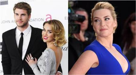 Kate Winslet, Liam Hemsworth, Miley Cyrus, Kate Winslet Daughter Mia, Liam hemsworth Miley Cyrus, Liam Hemsworth Miley Cyrus Patch up, Entertainment news