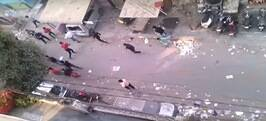 Visuals Of The Mob Violence In Bharat Nagar Following A Communal Flare Up