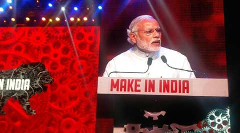 narendra modi, modi, modi speech, make in india, make in india modi, modi make in india, india news, modi news, make in india week, mumbai news