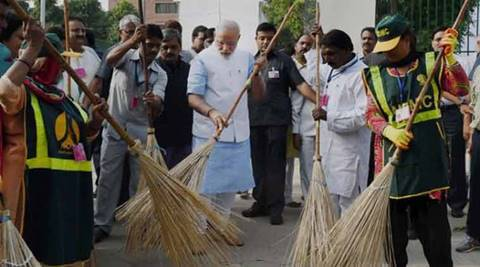 Swachh Bharat Kosh, Swachh Bharat Abhiyan, Finance Ministry, Ministry for Drinking Water and Sanitation, Modi, Clean India, Swachh Bharat, news, latest news, India news, Delhi news, national news, latest news, Narendra Modi, PM Modi, Modi Swachh Bharat, Parameswaran Iyer, CSR, Swachh Bharat Pakhwada, Balvinder Kumar, Lord Jagannath Temple, Hindustan Zinc Ltd, Ajmer Sharif dargah, Indian Bureau of Mines, Tapan Ray, Ameising Luikham