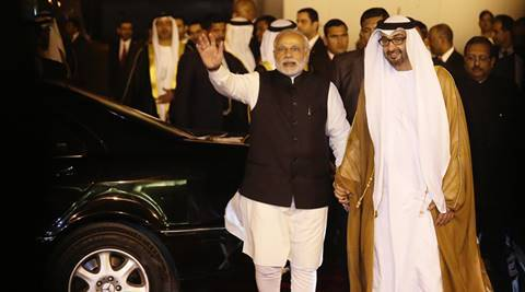 india, UAE, india UAE relation, UAE prince india tour, Sheikh Mohamed bin Zayed Al Nahyan, Al Nahyan india tour, Modi Dubai tour, UAE indian community, UAE indian workers, india news, latest news