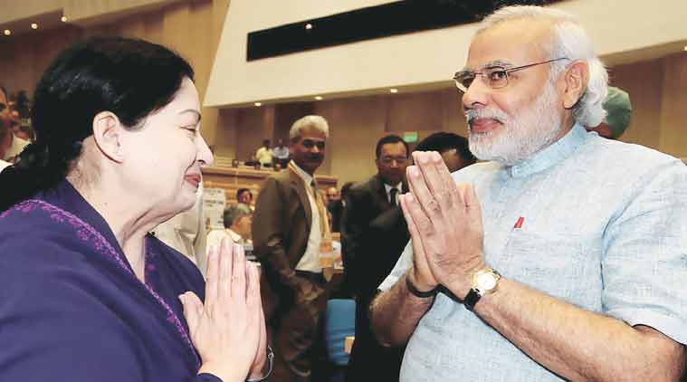 'Jayalalithaa and Modi's warm relationship is a contributing factor'.