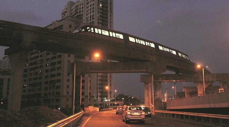 monorail, mumbai monorail project, mumbai monorail, wadala project, mumbai news, indian express news