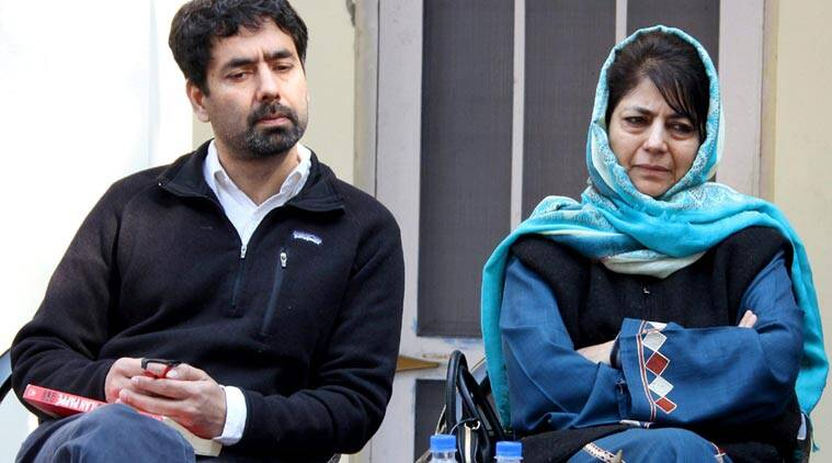Tasaduq Mufti, Mufti Mohammad Sayeed death anniversary,first death anniversary, tasaduq mufti joins PDP, tasaduq joins PDP, PDP, people's democratic party, jammu and kashmir, mehbooba mufti, jammu and kashmir CM, chief minister Mehbooba, india news, indian express news
