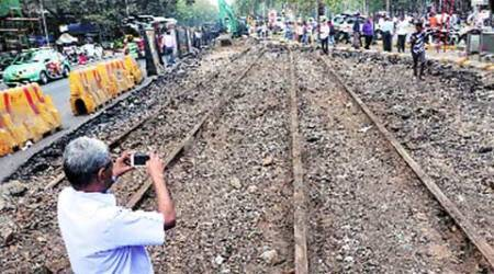 Mumbai: Tram tracks removed, to be preserved in museum