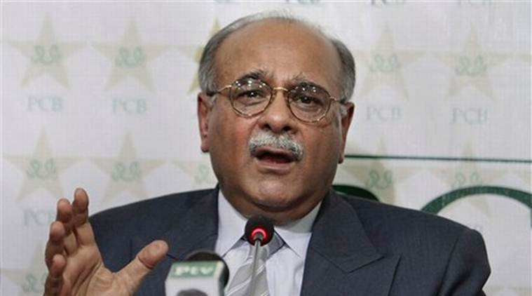 najam sethi, india vs pakistan, cricket news, indian express