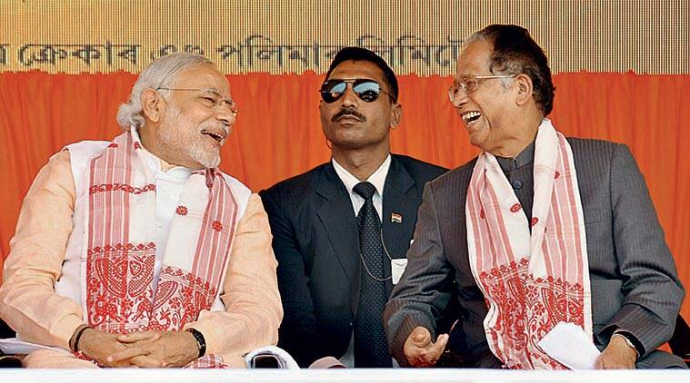 assam polls, assam bjp, narendra modi, modi in assam, modi assam, modi assam visit, assam elections, assam polls bjp, assam news, india news