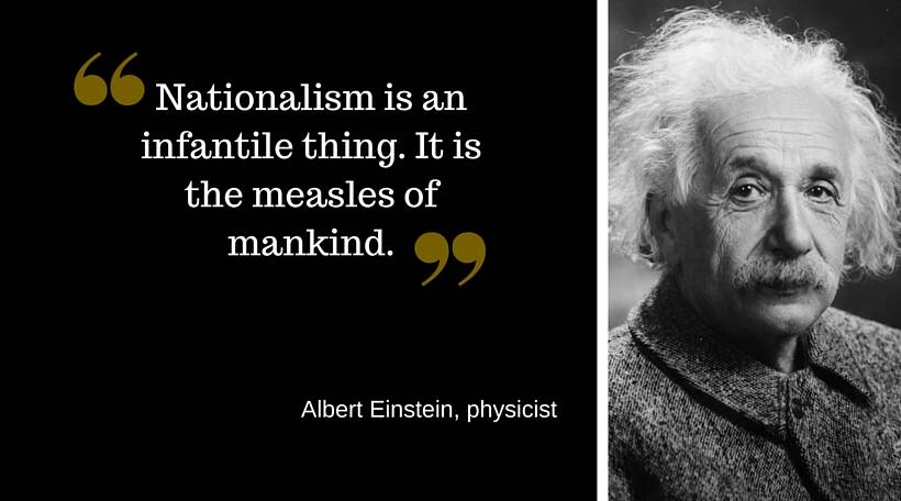 So What Is Nationalism Heres What Tagore Einstein Orwell Etc  Read His Essay Notes On Nationalism Here