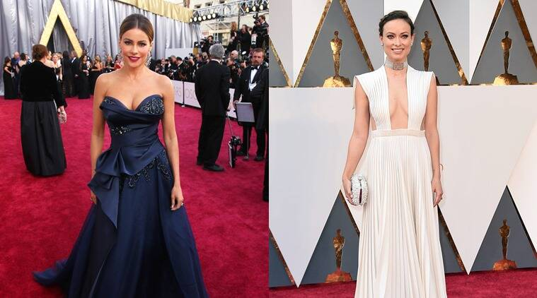 From L to R: Sofia Vergara and Olivia Wilde. (Photo: AP)