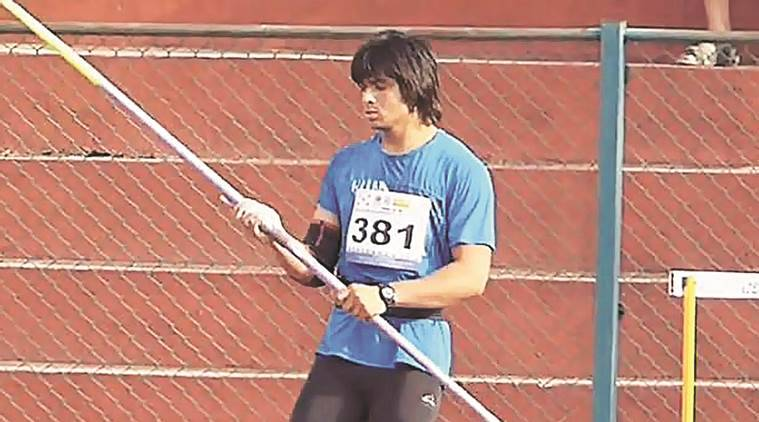 Neeraj Chopra, Patiala Javelin thrower, Javelin thrower Patiala, South Asian Games, Indian players in South Asian Games, 2016 South Asian games, 2016 SAARC games, Javelin throw players in Asian games