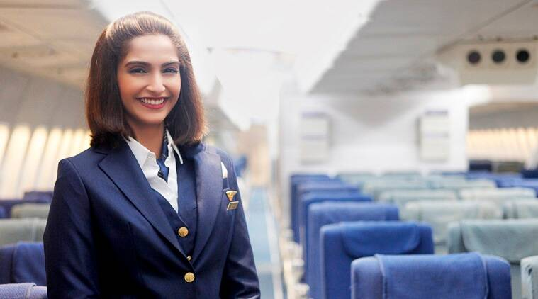 Sonam Kapoor plays the lead in Neerja.