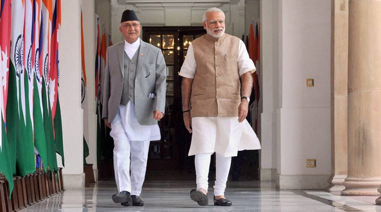 Nepal, KP Oli, India nepal, nepal india, KP oli inida visit,