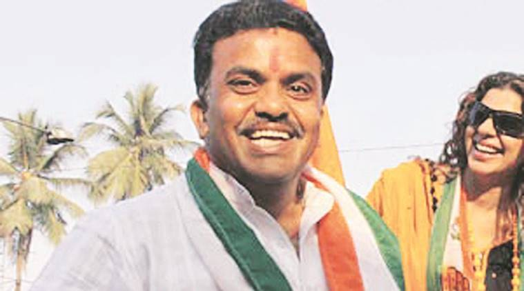 Sanjay Nirupam, Mumbai Congress chief, Ravindra Waikar, graft charges, mhada, mumbai, mumbai news, indian express news