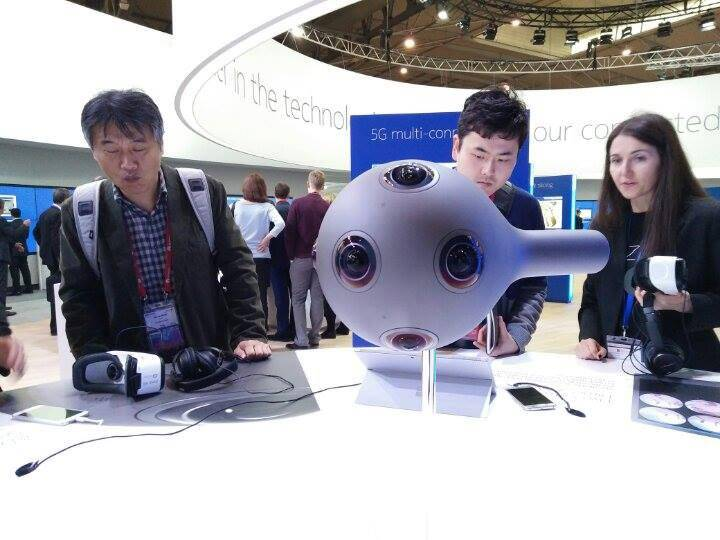 Nokia's Ozo VR camera.