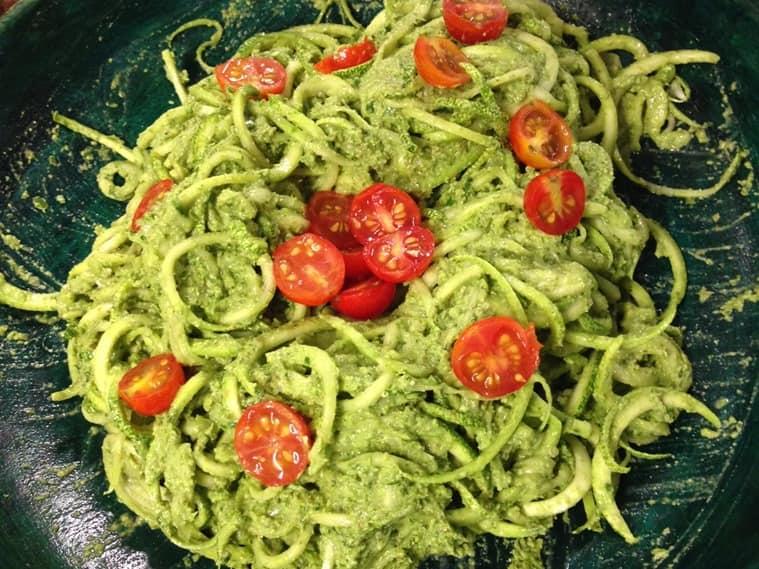 Yummy Zucchini Noodles. (Photo: Yogisattva)