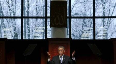 Barack Obama, mosque visit, US mosque, Muslims terrorists, Muslims, terrorists, Muslim American, American Muslims, obama US mosque, mosque, obama mosque visit, US news, world news
