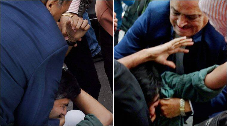 jnu, jnu row, jnu protest, O P sharma, BJP backs O P sharma, jnu case, lawyers in jnu, lawyers beat students, lawyers beat jnu students, supreme court, supreme court on jnu
