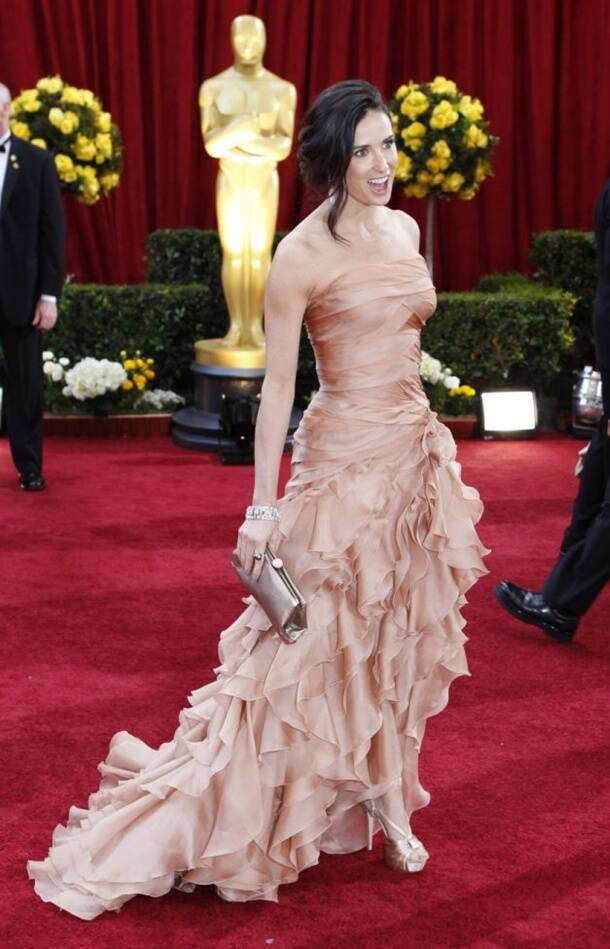 Actress Moore arrives at the 82nd Academy Awards in Hollywood