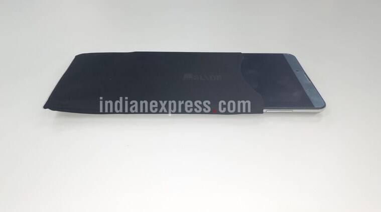iBall has also bundled a carrying pouch with the device to protect the tablet