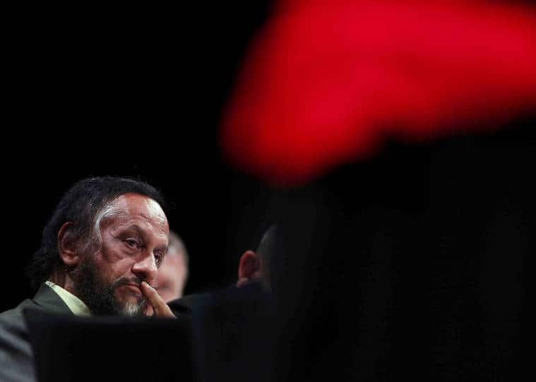 RK Pachauri Reuters