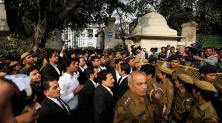 Attack at Patiala House court: Indian Express journalists recount the assault