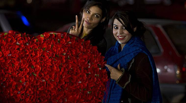 valentine's day, valentines day, v day, valentines day celebration, moral policing valentines day, pakistan valentines day, india news, pakistan news, indian express colummn