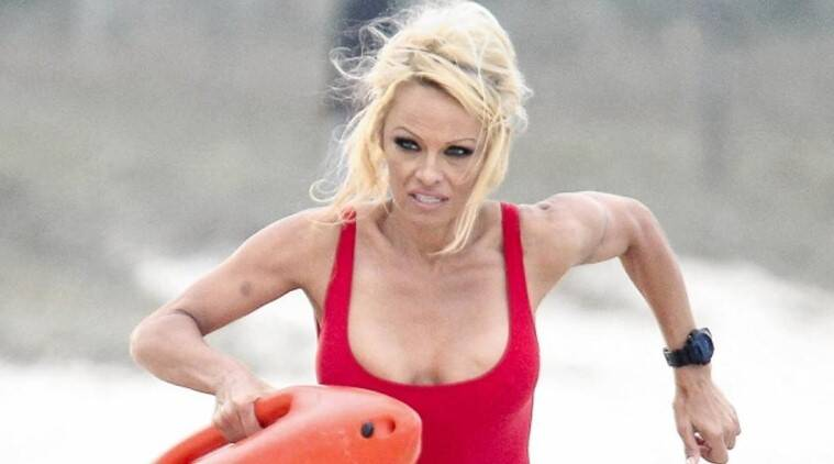 Pamela Anderson, baywatch, Pamela Anderson baywatch, Pamela Anderson baywatch movie, baywatch movie, Pamela Anderson news, Pamela Anderson latest news, entertainment news