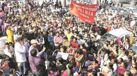 PGI nurses' strike: 'Our demands have not been fulfilled by the Seventh Pay Commission'