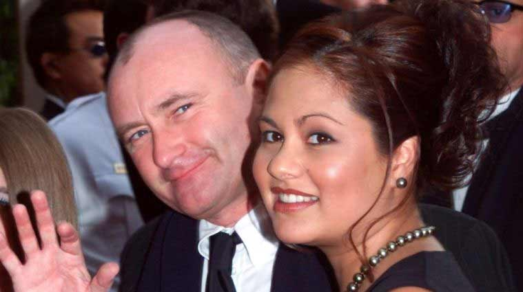 Phil Collins To Re Marry Orianne Cevey Entertainment News The Indian Express Collins has been walking with the aid of a stick since his fall last year (picture: phil collins to re marry orianne cevey