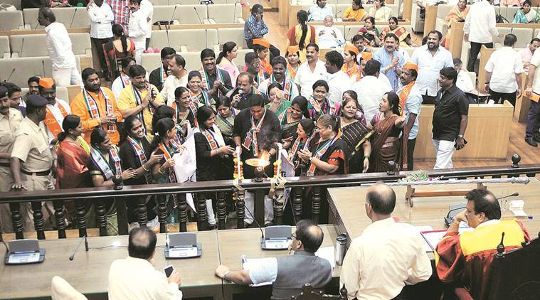 PMC, water charge hiked, 8 hours debate, Pune Municipal Corporation , BJP, pune news