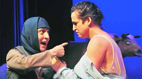 NSD, polish play, polish play nudity, Bharat Rang Mahotsav, 18th Bharat Rang Mahotsav, Aleksander Wegierko Drama Theater, theatre nusity, play nudity, india news, nation news