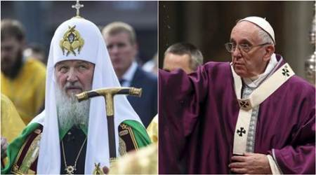 Patriarch Kirill, Pope, Pope Francois, Pope francis, Russian orthodox church, pope Patriarch Kirill meeting, pope Francis and Patriarch Kirill meeting, cuba pope russian patriarch kirill meeting, Christianity, world news, latest news