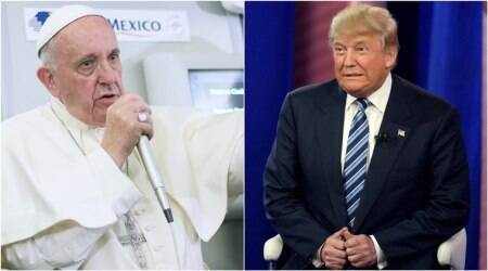 Tensions in their past, Donald Trump, Pope Francis to meet