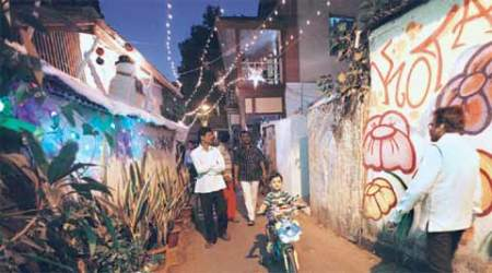 Postcard, from a Mumbai Village: Khotachiwadi, a tiny 'village' nestling in the city's bustle