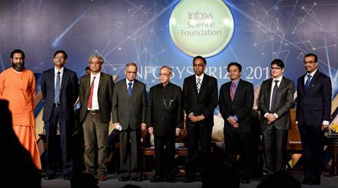 pranab mukherjee, New science policy, Infosys Science Prizes, Science, Technology and Innovation, Mahan Mj, india news, latest news