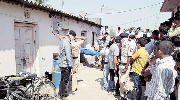 In Pune Sunday. Grandfather was looking for boy. (Express Photo)