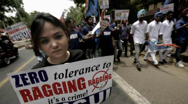 essay on ragging in india As you step into a new college campus this month, the threat of ragging looms in  the shadows shreeja mahambre sheds more light on this.